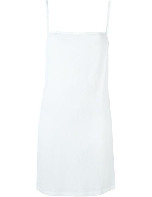 Ann Demeulemeester | Женское Белое Платье С Открытой Спиной