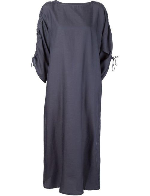 TOOGOOD | Женское Синее Платье Weaver