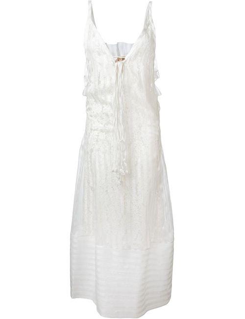 No21 | Женское Белое Кружевное Платье