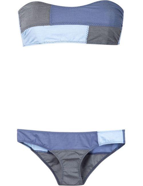 Lisa Marie Fernandez | Женское Синий Patchwork Bikini