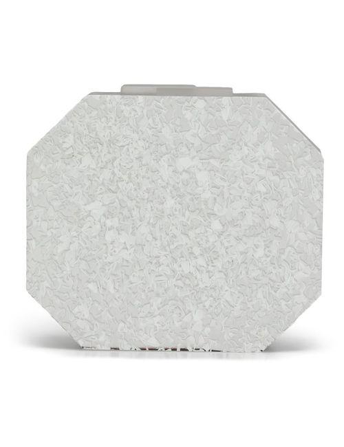 RAUWOLF | Женское Белый Octagon Gem Clutch