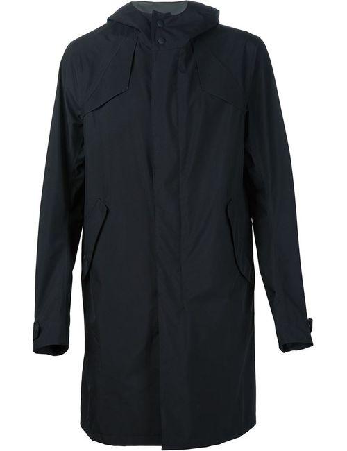 Herno | Мужское Черный Hooded Coat