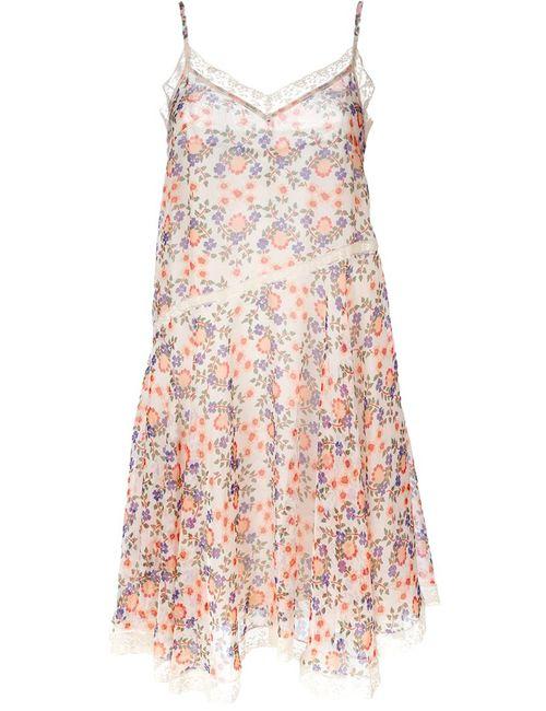 P.A.R.O.S.H. | Женское Многоцветное Платье С Цветочным Принтом