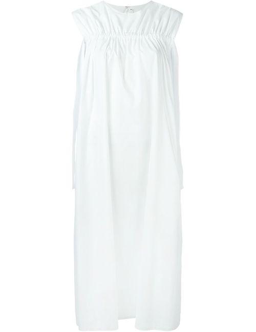 Damir Doma | Женское Белое Платье Daalge