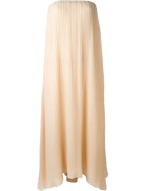 DUSAN | Женское Nude & Neutrals Pleated Strapless Dress