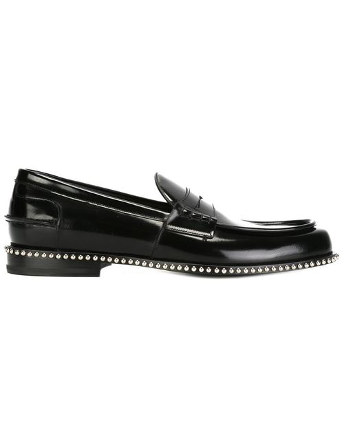 Louis Leeman | Мужское Чёрный Studded Detail Loafers