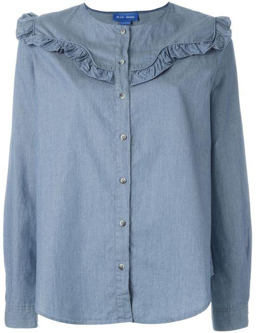 Mih Jeans | Женская Синяя Рубашка Niki