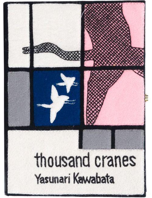 Olympia Le-Tan   Женский Многоцветный Клатч-Книга Thousand Cranes