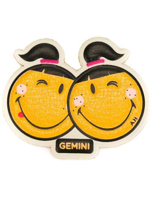 Anya Hindmarch | Жёлтая Наклейка Gemini