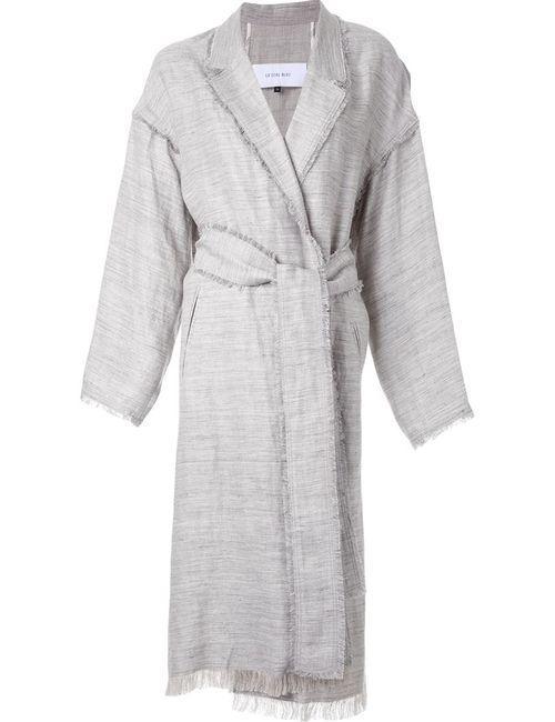 LE CIEL BLEU | Женское Серое Пальто С Поясом