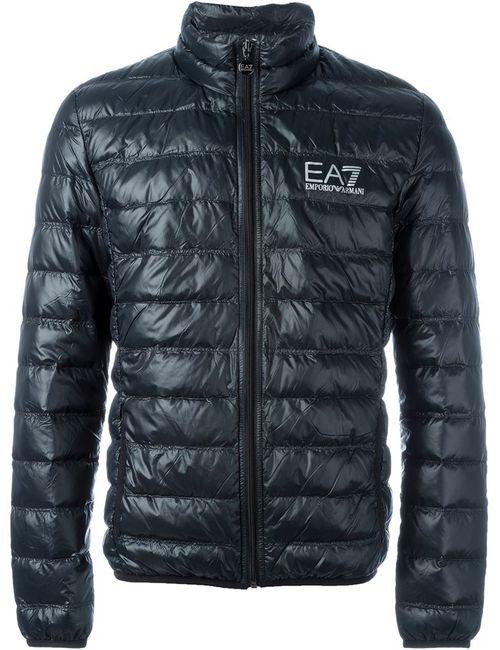 EA7 EMPORIO ARMANI | Мужское Чёрный Feather Down Padded Jacket