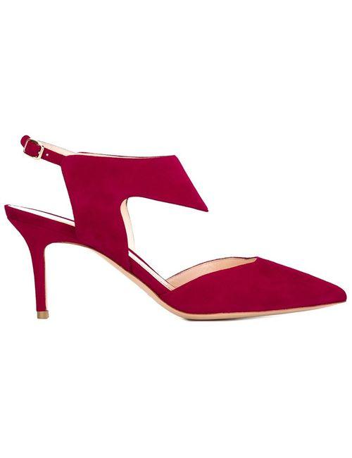 Nicholas Kirkwood | Женские Красные Туфли На Шпильках Leda