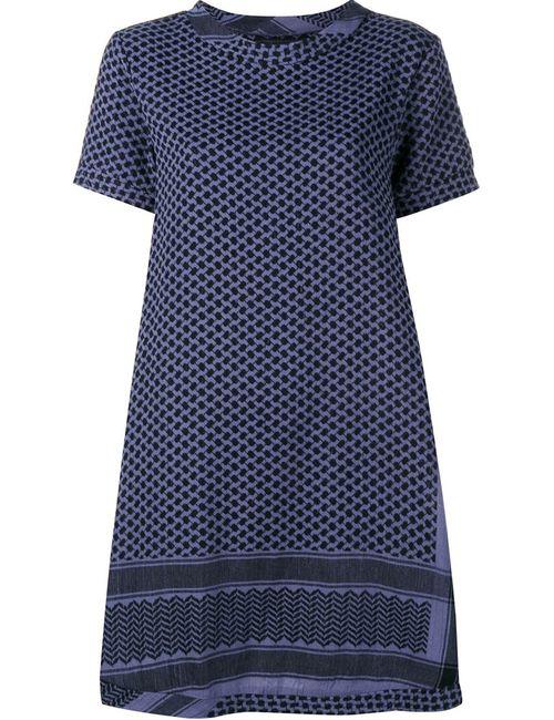 CECILIE COPENHAGEN | Женское Синее Платье Свободного Кроя