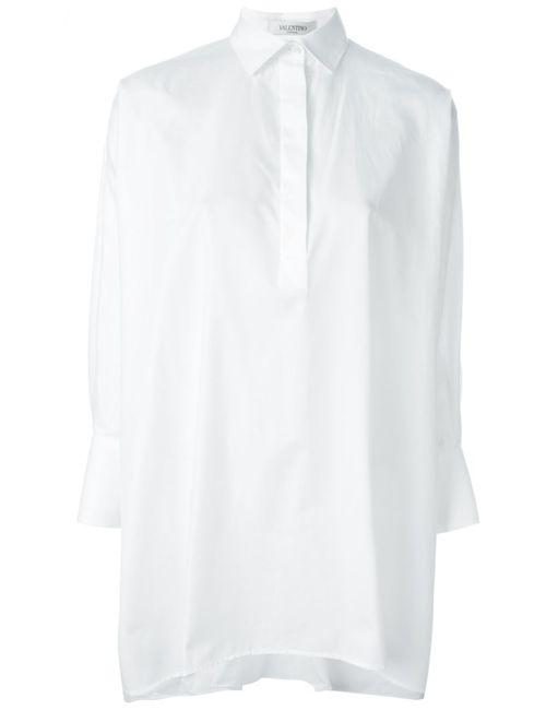 Valentino   Женское Белый Oversized Shirt