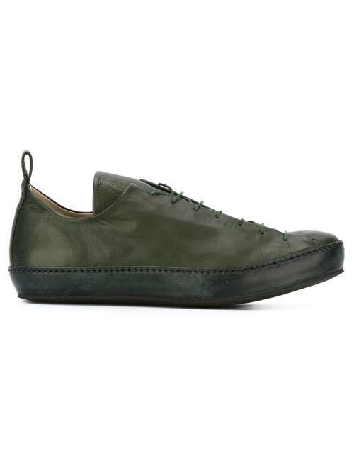 MA+ | Мужские Зелёные Классические Кроссовки Со Шнуровкой