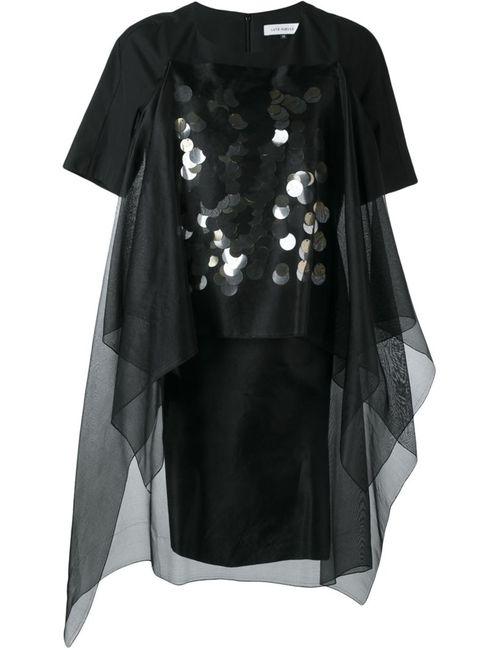 Lutz Huelle | Женское Черный Декорированное Платье Rubicon