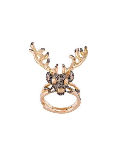 Christina Debs | Женское Серебристый Deer Ring