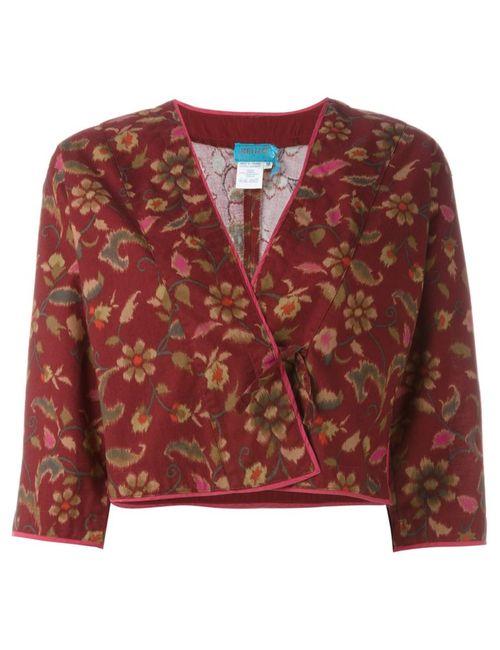 Kenzo | Женское Красный Print Wrap Jacket