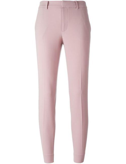 Ralph Lauren Purple | Женские Розовые Брюки Прямого Кроя