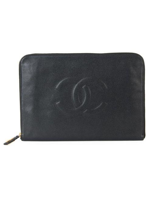 Chanel Vintage | Женский Чёрный Клатч