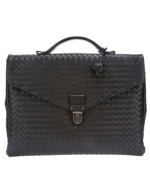 Bottega Veneta | Мужское Чёрный Intrecciato Briefcase