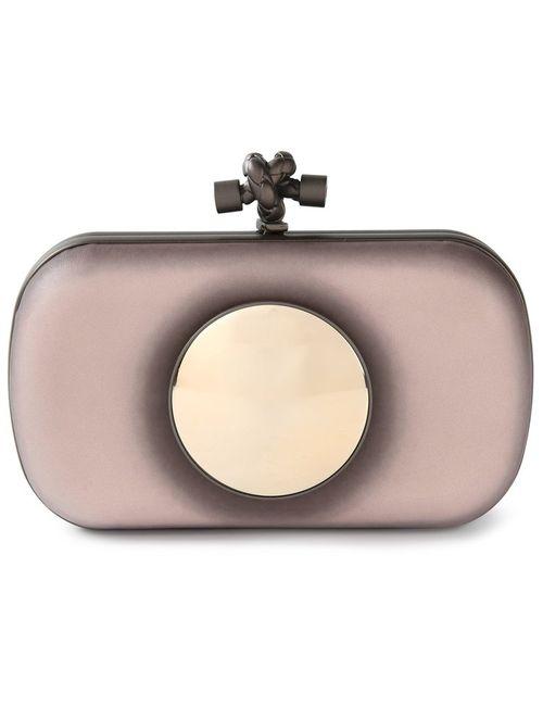 Bottega Veneta | Женское Розовый Knot Box Clutch