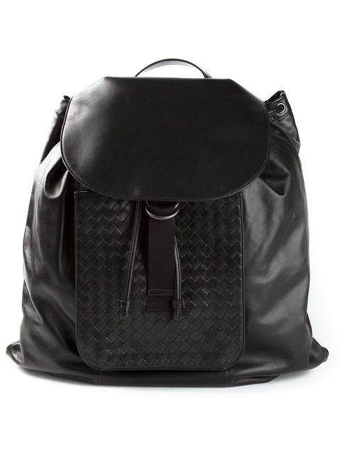 Bottega Veneta | Мужское Синий Intrecciato Backpack