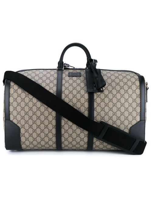 Gucci | Мужское Чёрный Logo Pattern Holdall