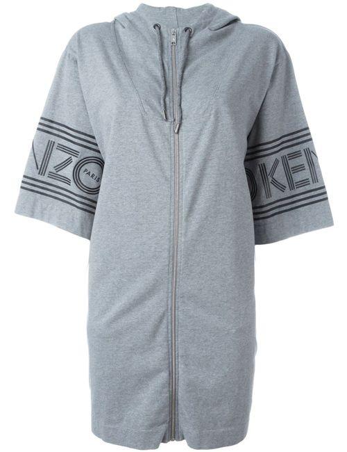 Kenzo | Женское Серый Hoodie-Style Dress