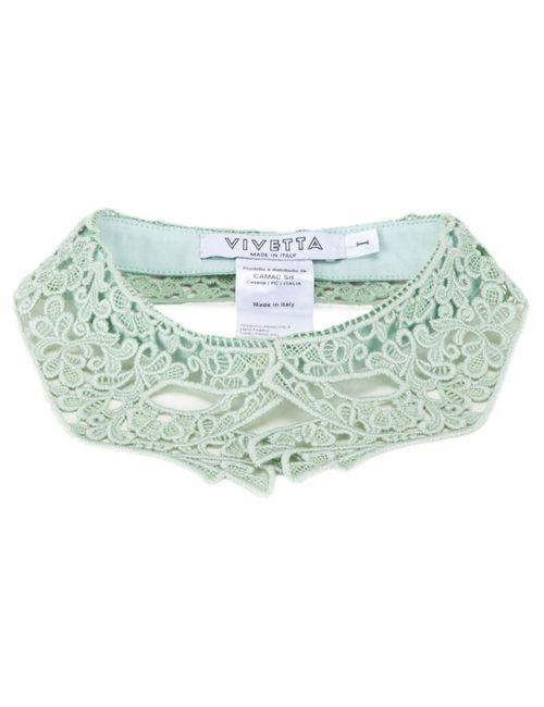 Vivetta   Женское Зелёный Hand-Shaped Lace Collar
