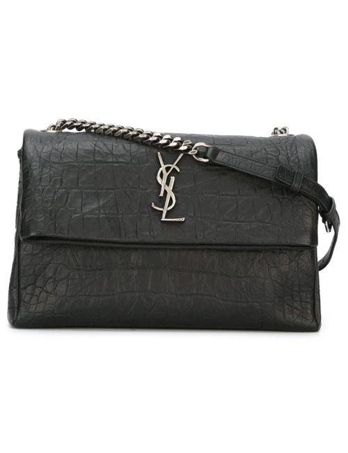 Saint Laurent | Женское Чёрный West Hollywood Monogram Shoulder Bag