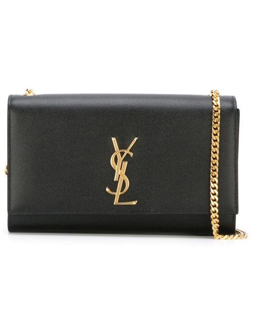 Saint Laurent | Женское Черный Medium Monogram Shoulder Bag