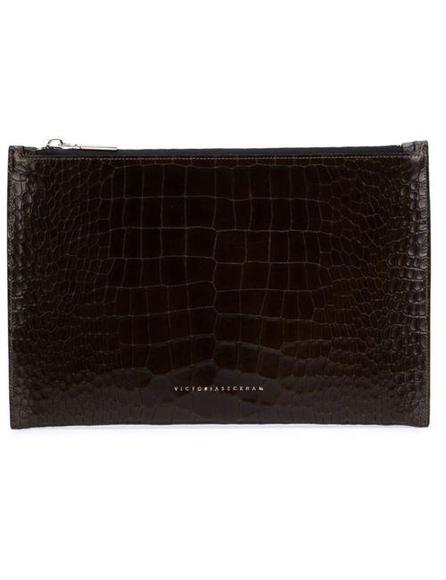 Victoria Beckham | Женское Коричневый Large Rectangular Clutch