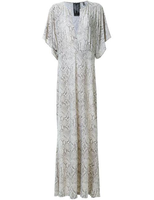 Norma Kamali | Женское Белый Snakeskin Print Gown