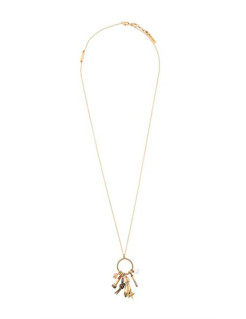 Marc Jacobs | Женское Серебристый Rope Ring Charm Necklace