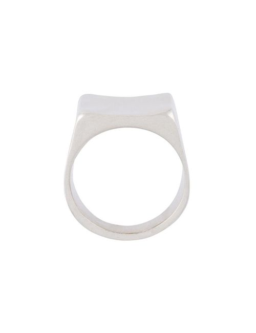 Maison Margiela | Женское Серебристый Square Ring