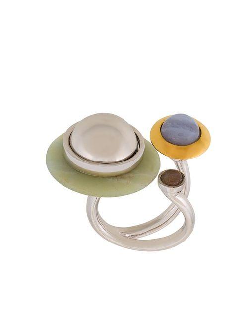 Eshvi | Женское Серебристый Astro 1 Ring