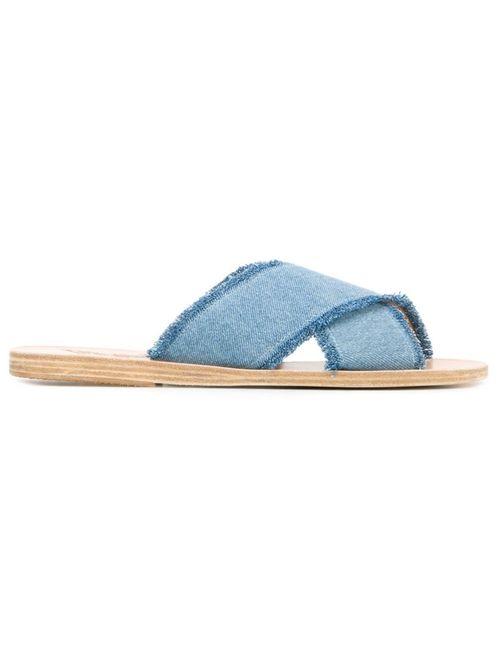 ANCIENT GREEK SANDALS | Женское Синий Thais Sandals