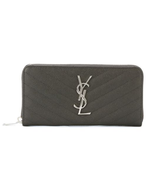Saint Laurent | Женское Серый Monogram Purse