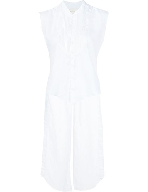 GREG LAUREN | Женская Белая Рубашка Studio