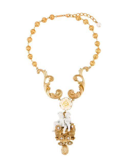 Dolce & Gabbana | Женское Серебристый Angel Necklace