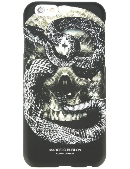 MARCELO BURLON COUNTY OF MILAN | Чёрный Чехол Для Iphone 6/6s Bayo