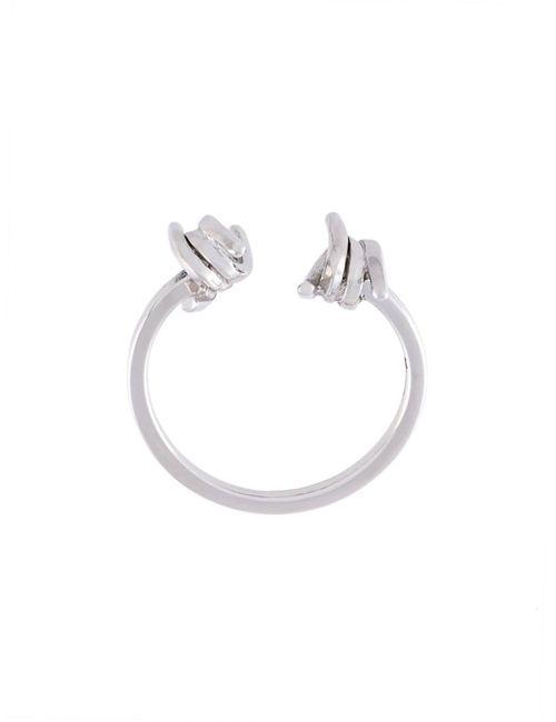 Dsquared2 | Женское Серебристый Barb Wire Ring