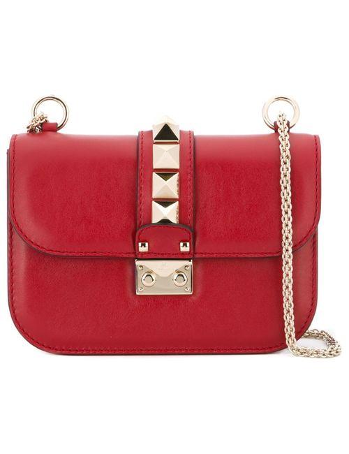 Valentino | Женская Красная Сумка На Плечо Glam Lock