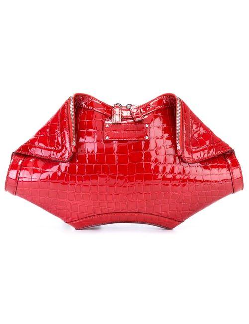 Alexander McQueen | Женское Красный De Manta Clutch