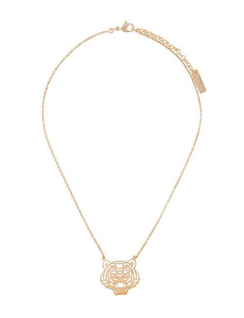 Kenzo | Женское Серебристый Tiger Necklace