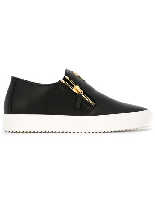 Giuseppe Zanotti Design | Мужское Черный Adam Slip-On Sneakers