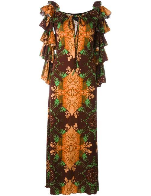 JEAN PAUL GAULTIER VINTAGE | Женское Многоцветное Платье С Цветочным Принтом