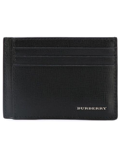 Burberry | Мужское Чёрный Logo Plaque Cardholder
