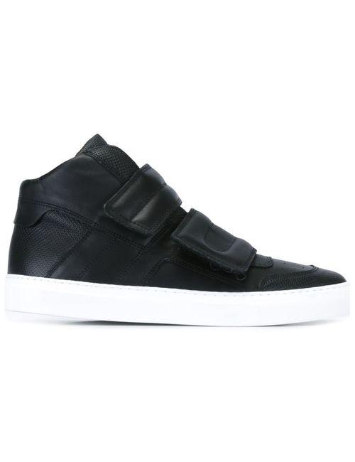 MM6 by Maison Margiela | Женское Чёрный Strap Hi-Top Sneakers